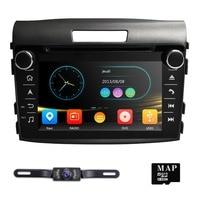 Hizpo два din 7 inch dvd плеер автомобиля для honda crv 2012,2013, 2014,2015, 2016 сенсорный экран bluetooth mirrorlink nagavition gps IPOD