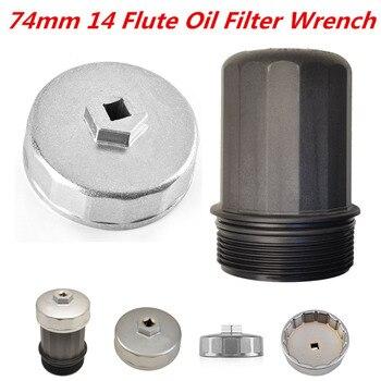 Chuang Qian 74 мм 14 флейта масляный фильтр гаечный ключ колпачок инструмент для жилья гаечный ключ для Porsche 911/Boxter/Cayenne/Cayman
