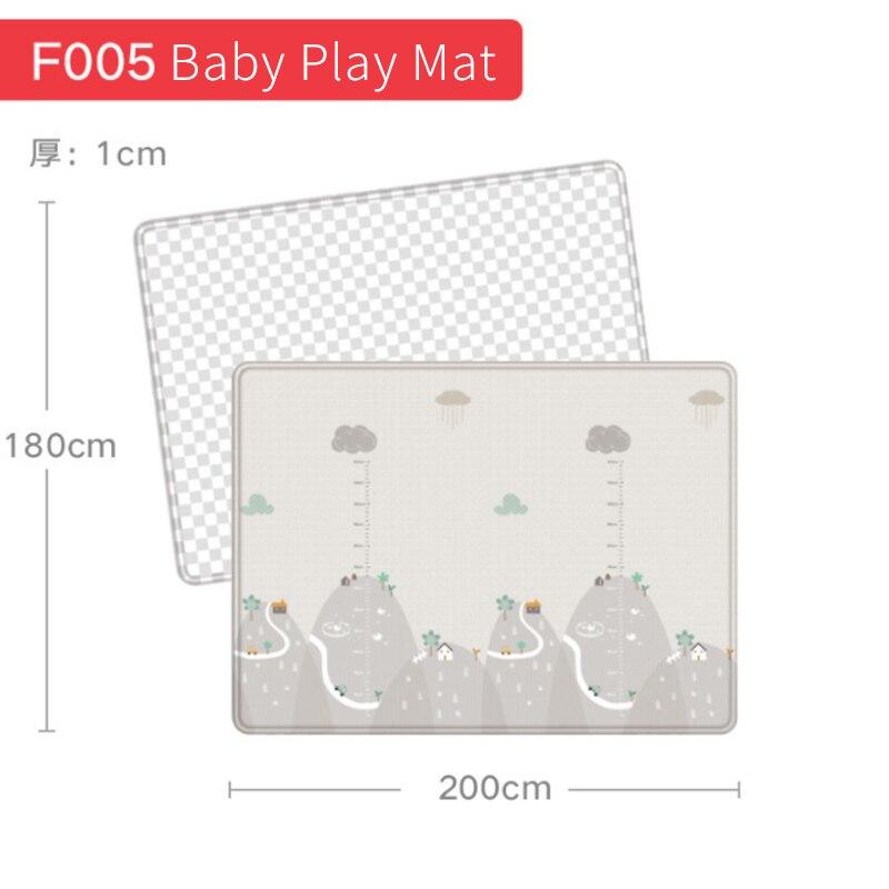 1 pièces tapis de jeu pour bébé Puzzle tapis pour enfants épaissi Tapete tapis rampant pour chambre d'enfant tapis pliant tapis bébé enfant en bas âge jouet D61 - 5