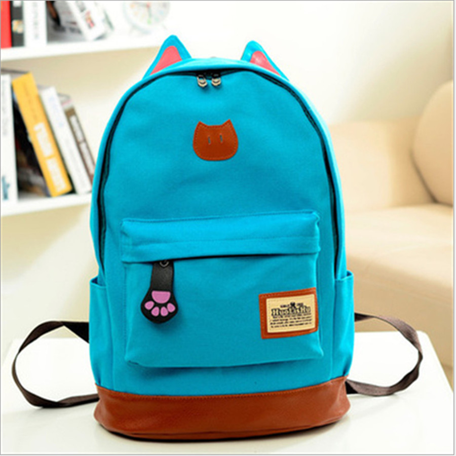 2015 School Bags For Teenagers Girls Boys Travel Students Laptop Backpack for Women Rucksack Famous Designer Brands High Quality image