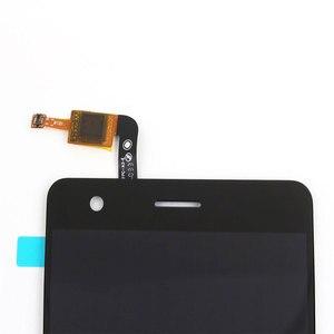 Image 3 - Ocolor לzte להב V770 LCD תצוגת מסך מגע עם מסגרת Digitizer עצרת + כלים עבור ZTE להב V770 כתום נבה 80