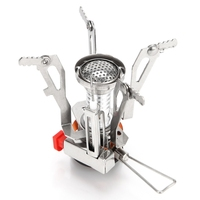 Ultra Light Portable Mini Outdoor Stoves Gas Butane Propane Picnic Camping Equipment Backpacking Gas Stove Camping