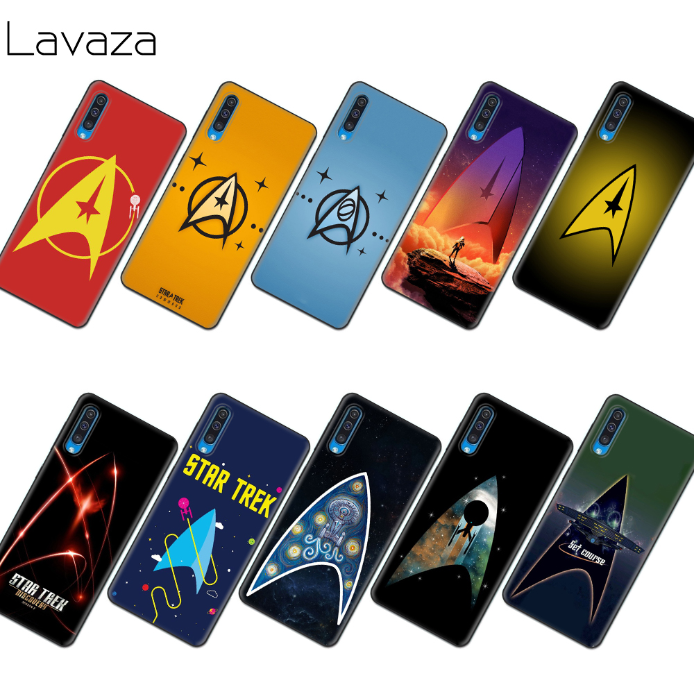 Lavaza Star Trek Soft TPU Case for Samsung Note A3 A5 A6 A7 A8 A9 8 9 J6 A10s A20s A30s A40s A50s 10 A70 Plus image