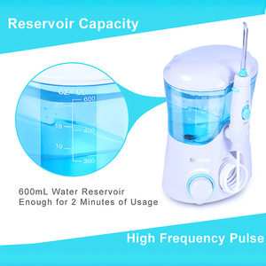Image 3 - TINTON LIFE FC 169 FDA Water Flosser With 7 Tips Electric Oral Irrigator Dental Flosser 600ml Capacity Oral Hygiene For Family