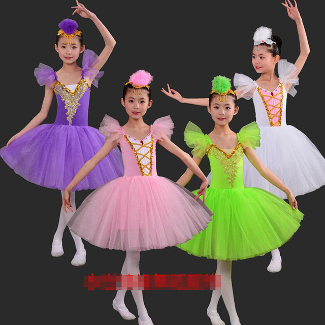 d58a836df Classical Professional White Swan Lake Ballet Costume Romantic ...