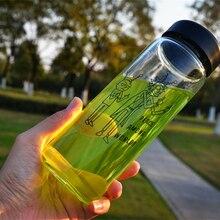 Новинка 500 мл Рик и Морти мир среди миров стеклянная бутылка чашка