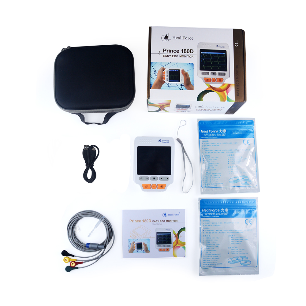 Heal Force Prince 180D Portable Household Heart Ecg Monitor CE FDA Approved