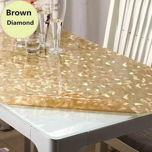 minimum Pvc waterproof Tablecloth glass table cover table