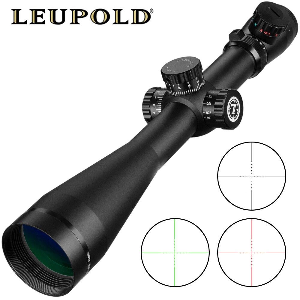Leupold 6-24x50 M3 lunette de visée tactique fusil optique portée Sniper chasse fusil portée longue portée Airsoft fusil