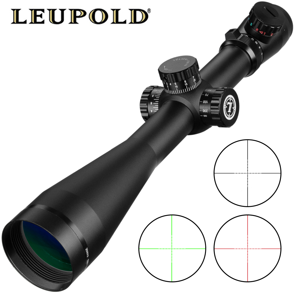 Leupold 6-24x50 M3 riflescope Tactical Optical Rifle Scope Sniper Rifle de Caça Escopos Airsoft Rifle de Longo Alcance