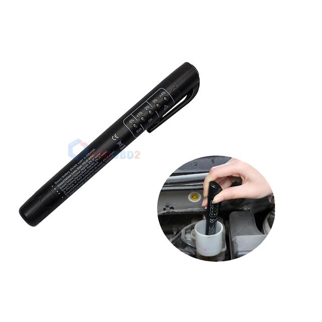 Brake Fluid Tester Mini Electronic Pen With 5 LED