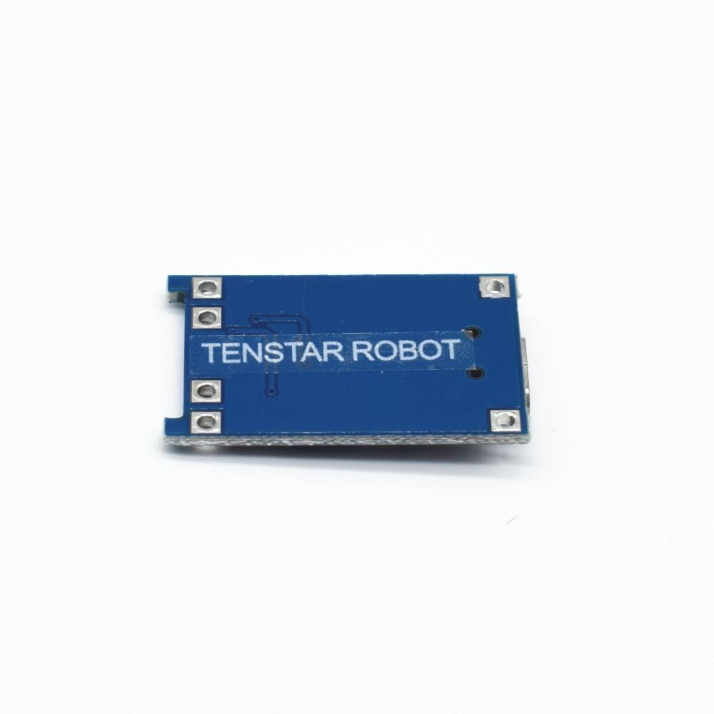 5pcs TENSTAR ROBOT 5V 1A Micro USB 18650 Lithium Battery Charging Board Charger Module+Protection Dual Functions