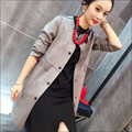 Spring Autumn jacket coat women fashion basic jacket faux suede women windbreaker Long Sleeve Outwear