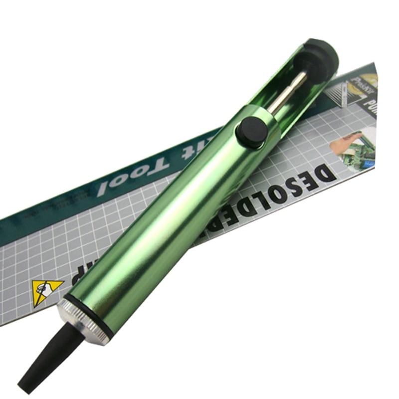 8PK-366D Anti-static 16cm Suction Tin Solder Suckers Desoldering Gun Soldering Iron Pen Hand Tools Desoldering Pump