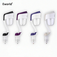 Eworld Mini Humidifier Double USB Car Charger Ultrasonic Air Purifier Car Aroma Mist Maker Essential Oil