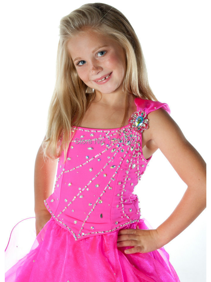 Online Shop Spaghetti Straps Princess Little Girl Party Dresses ...