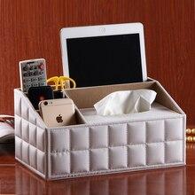 Creative company desktop multifunctional remote control storage box ofhead tissue