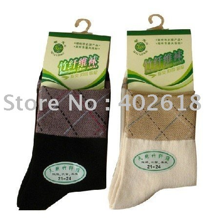 Hot sale 12PCS/lot Ladies socks Bamboo socks Black & beige color, High quality Wholesale & Free shipping