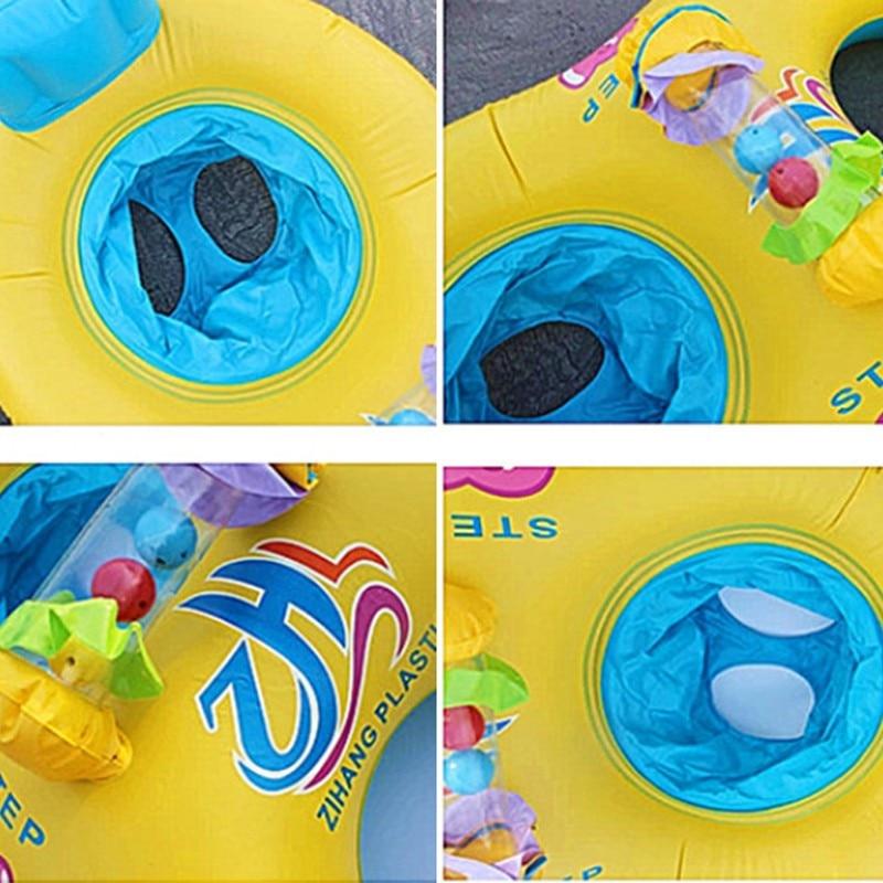 Nuoto gonfiabile del bambino del cerchio di nuoto dell'anello del collo del bambino della madre e del bambino-4347