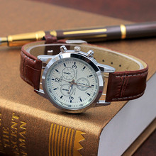 2019 relogio masculino watches men Fashion Sport Stainless Steel Case Leather Ba