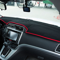 Car Dashboard Cover For Nissan QASHQAI Without Navigation Edition 2008 2015 Left Hand Drive Instrument Platform