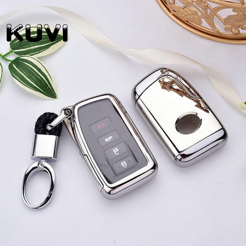 KUNDA Car Logo Keychain Suit fits for ES GS GX is LS LX RX SC RX Keychain with Screw Driver(Black+Black) 2 pcs