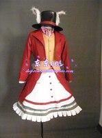 Les Aventures d'alice au Pays Des Merveilles Le Art de Alice Madness Returns poke Cosplay Costume robe avec chapeau