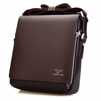 2019 New Messenger Bag Men Big Promotion Kangaroo Brand Man Bag Men's Bag Men Messenger Casual Shoulder Briefcase