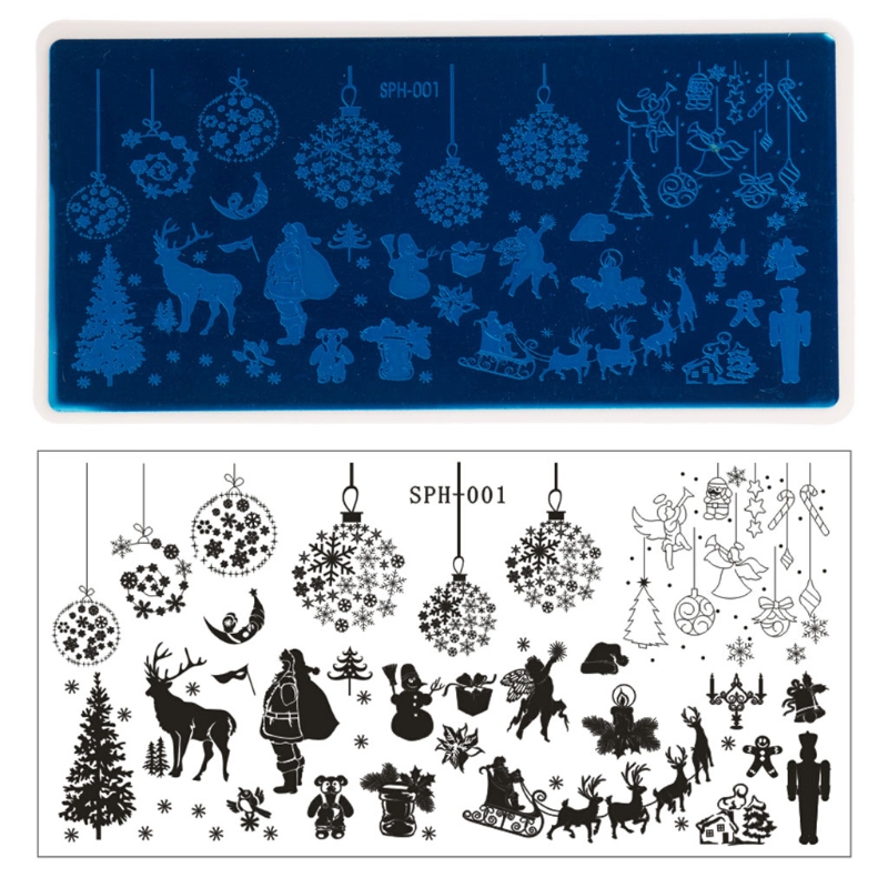 Nail Art Image Stamping Plates Manicure Template Tool 9 Desi