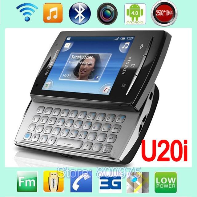 original sony ericsson xperia x10 mini pro u20 u20i mobile phone rh aliexpress com Manual De Usuario Icono Manual De Usuario Windows 8