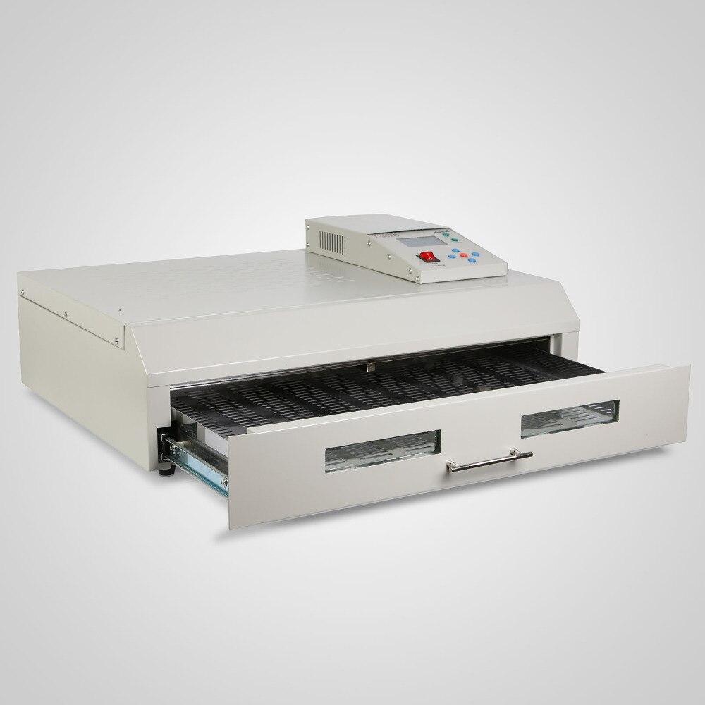 Mini machine de soudure de vague du four A600 de Reflow d'air chaud de SMT avec la surveillance de PC et le contrôle de PLC