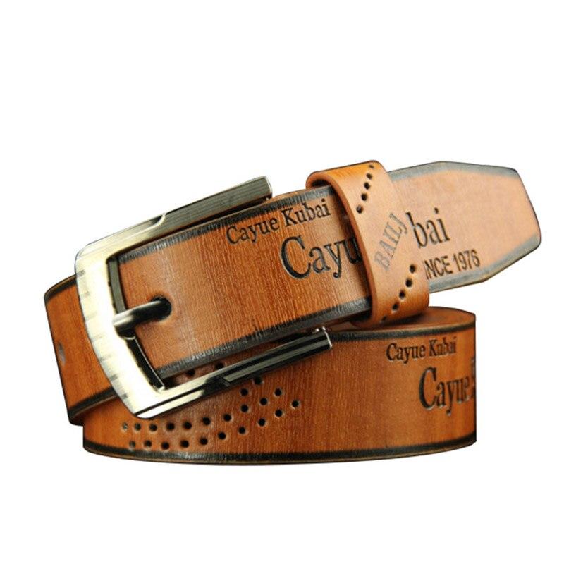 SORBUS anochecer de lujo Correa hombre cinturones para hombres Jeans Casual  cinturón hebilla Pin masculino faja elegante Vintage Vaqueros aff268b47827
