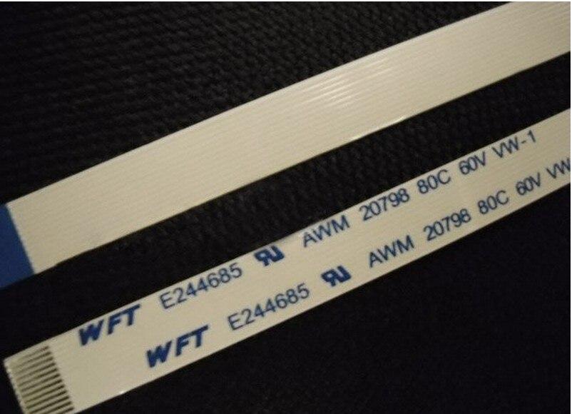 NEW For 10pcs/Lot Flat Ribbon Flex Cable 12pin For HP DV6500t CTO DV6000 Series E118077 AWM 2896 80C VW-1