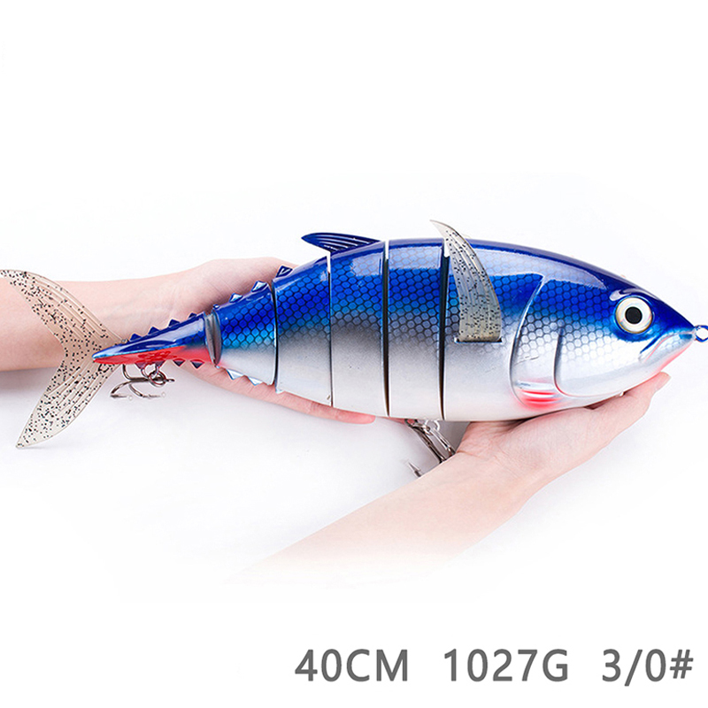 Fishing Swing Machine Realistic Fishing Baits Multi-section Realistic Fishing Hard Bait 2 Hook Road Asian Bait 40cm Fishing Swing Machine Realistic Fishing Baits Multi-section Realistic Fishing Hard Bait 2 Hook Road Asian Bait 40cm