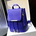 2016 mochilas mujeres estudiantes bolsas escolares mochila mochila para mujer de la mujer bolsas de viaje paquete de cuero 7