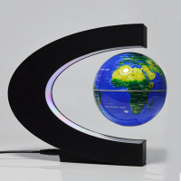1 pcs Anti Gravity Maglev Globe Ornaments Perpetual Motion Machine Office Desktop Toys Decoration Figurines Tool accessories