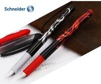 2 أجزاء شنايدر أوبوس 0.5 ملليمتر كول تصميم pp الجسم نافورة أقلام الرسم للأطفال الخط الكتابة وازم القرطاسية المكتبية