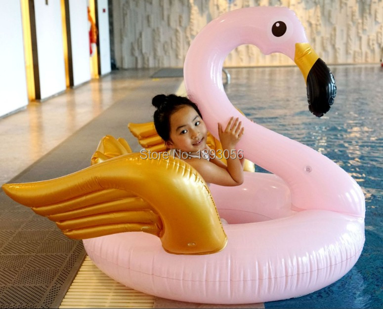 US $13.99 |Water Play Equipment Swimming Pool Float Inflatable Big Pink  Flamingo Ring Water Floating Sofa Air Bed Mattress Pool Play Toy-in Water  Play ...