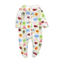 Baby Clothing 2019 New Newborn jumpsuits Outfits Baby Boy Girl Romper Clothes Long Sleeve Infant Product baby girl romper newborn sleepsuit cartoon baby rompers 2019 infant baby clothes long sleeve newborn jumpsuits baby boy pajamas