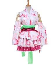Precioso kimono japonés albornoz kimono disfraces cosplay anime para cosplay mujeres de halloween sexy para las mujeres