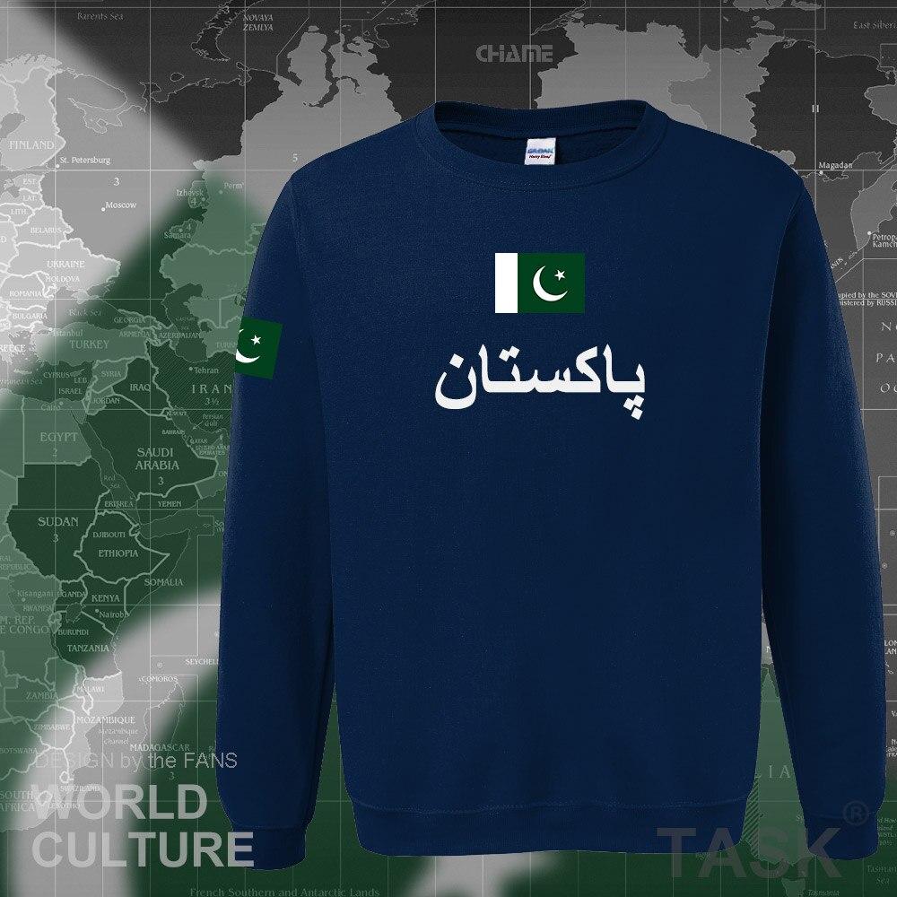 Pakistan Hoodies Men Sweatshirt Sweat New Hip Hop Streetwear Tracksuit Nation Footballer Sporting Country PAK Pakistani Islam