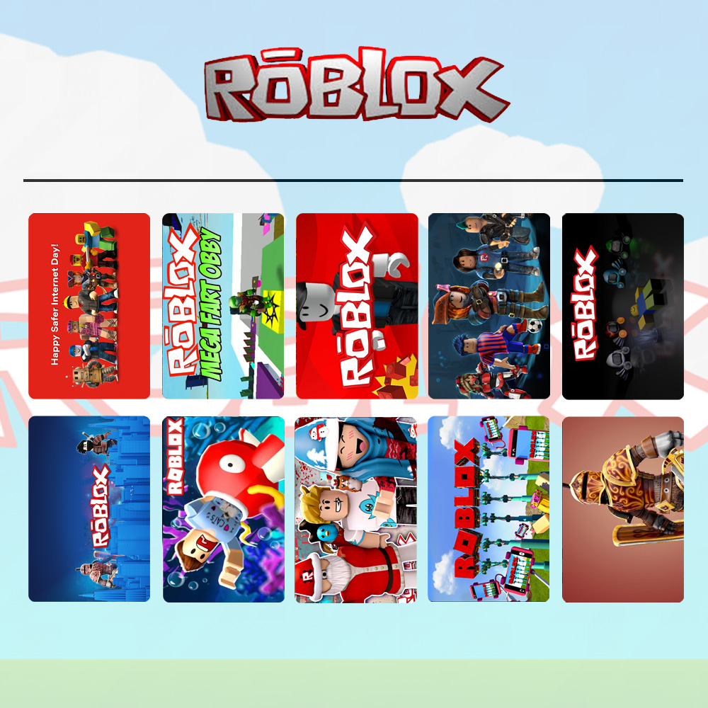 Roblox R Printed Game Anime Boys Girls Wallet Black Leather
