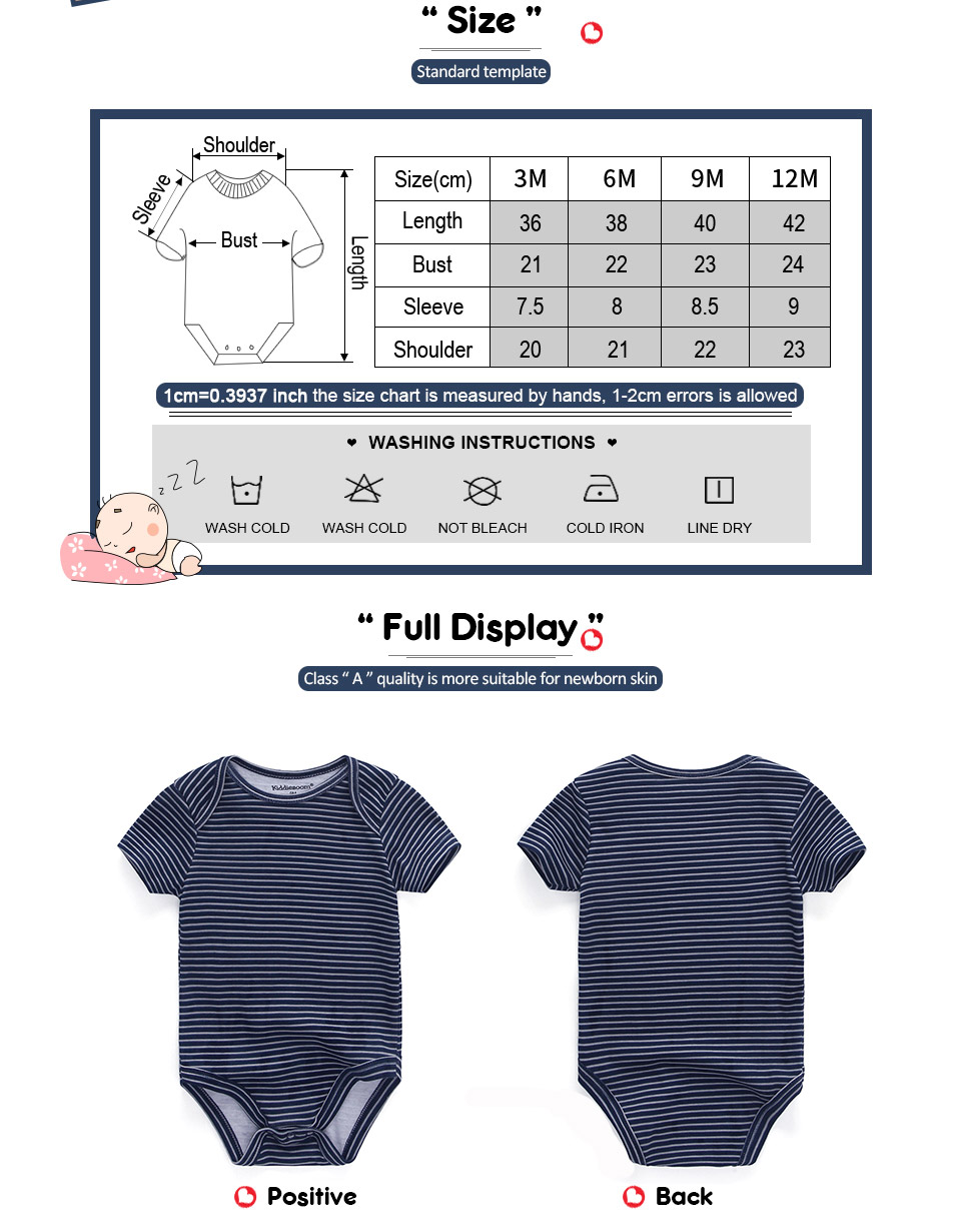 HTB19j.Rcv1H3KVjSZFHq6zKppXa5 Clearance 5pcs Baby rompers 100% Cotton Infant Body Short Sleeve Clothing baby Jumpsuit Cartoon Printed Baby Boy Girl clothes