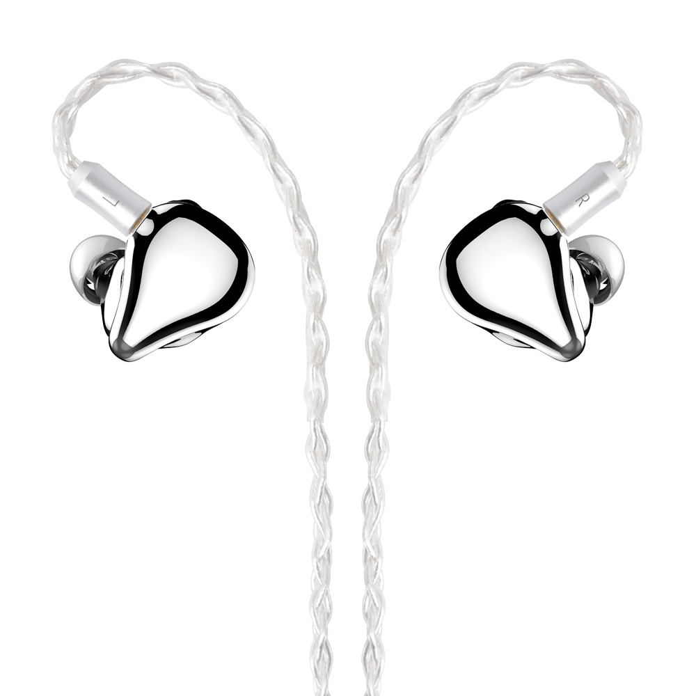 NICEHCK F3 Flagship Planar Drive Unit+1BA+1DD Hybrid 3 Drive In Ear Earphone Detachable HiFi Metal Headset 5-axes CNC Earphone