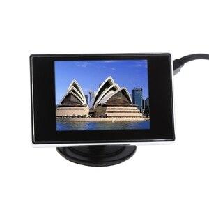 "Image 3 - 3.5 ""Mini TFT LCD Kleurenmonitor Scherm DVD VCD Voor Auto Achteruitrijcamera Backup Camera"