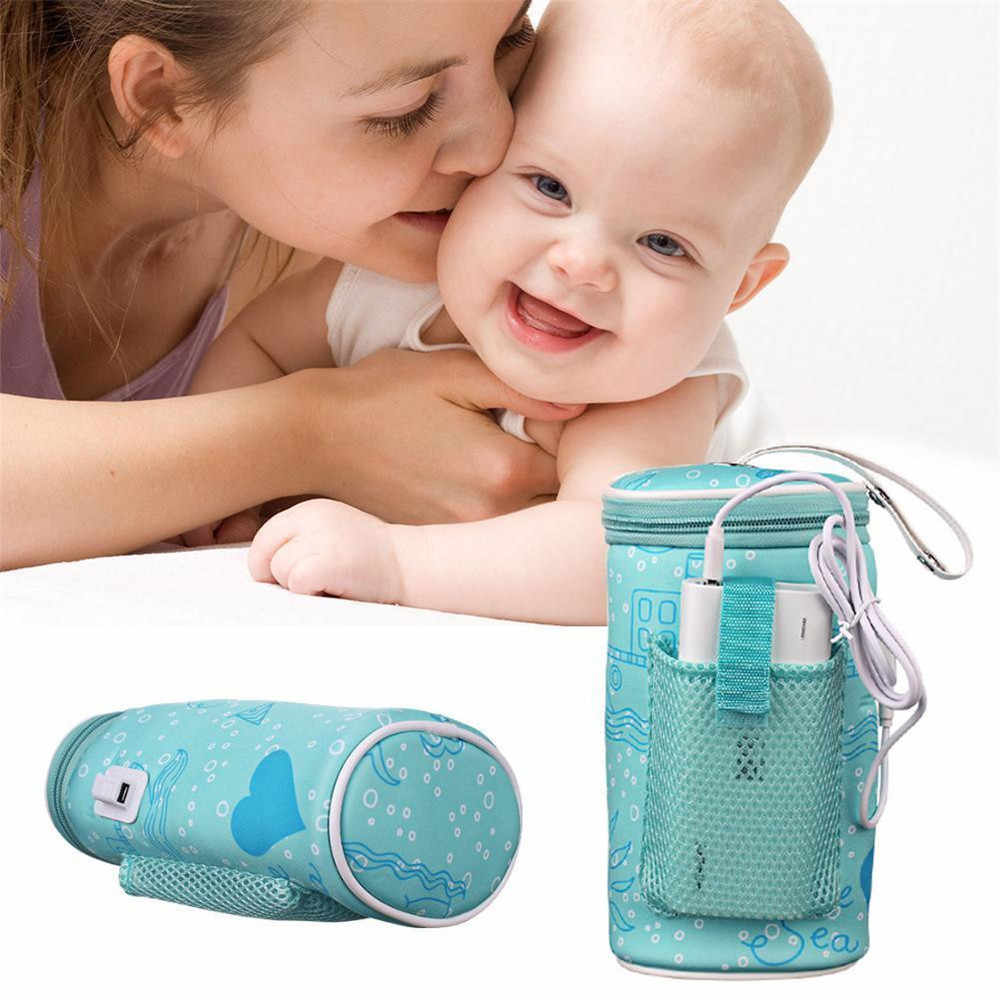Insulation Bags USB Warmer bottle Baby 2A-5V Heater Insulated Bag Travel Portable In Heaters Drink Warm Milk Bag For Newborn