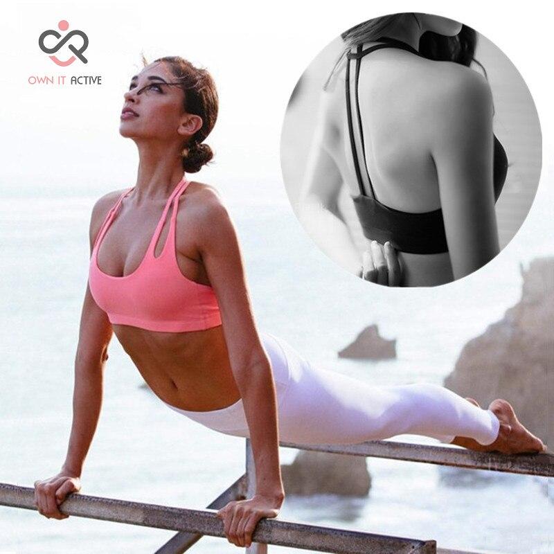 Prix pour Sexy Soutien-Gorge de Sport pour Femmes Running Fitness Gilet Populaire Sport De Yoga Top Sous-Vêtements pour Femme P056