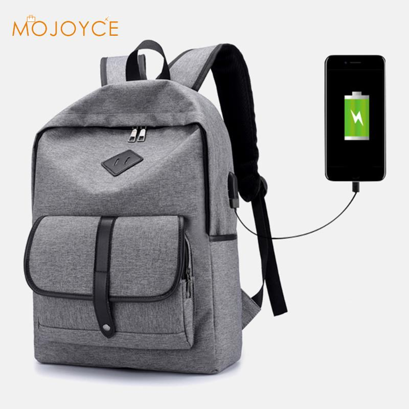 2017 New 16 inch Men Laptop Backpacks Multifunction USB Charge Anti-theft Backpack Bags  ...