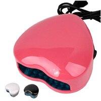 Professional Cute Mini Portable 1 5W LED Nail Dryer UV Lamp Gel Curing Light Spa Kit