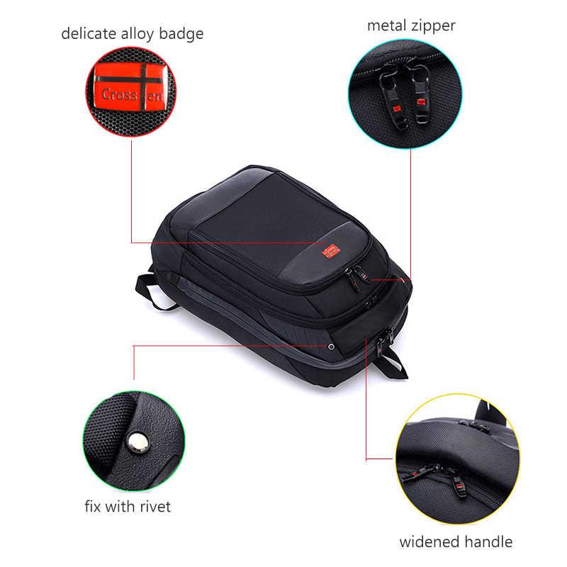 """Crossren moda İsviçre çok fonksiyonlu çanta 15 """"okul dizüstü sırt çantası Mochila su geçirmez kentsel sırt çantası seyahat çantası"""